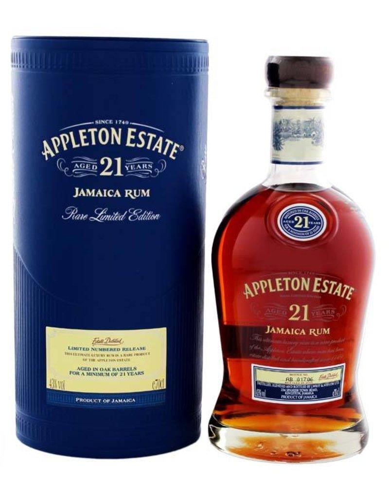 Appleton Appleton Estate 21 Years Old 700ml Gift box