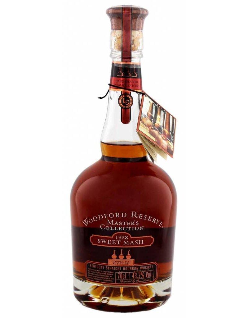 Woodford 700 ml Bourbon Whiskey Woodford Reserve 1838 Sweet Mash