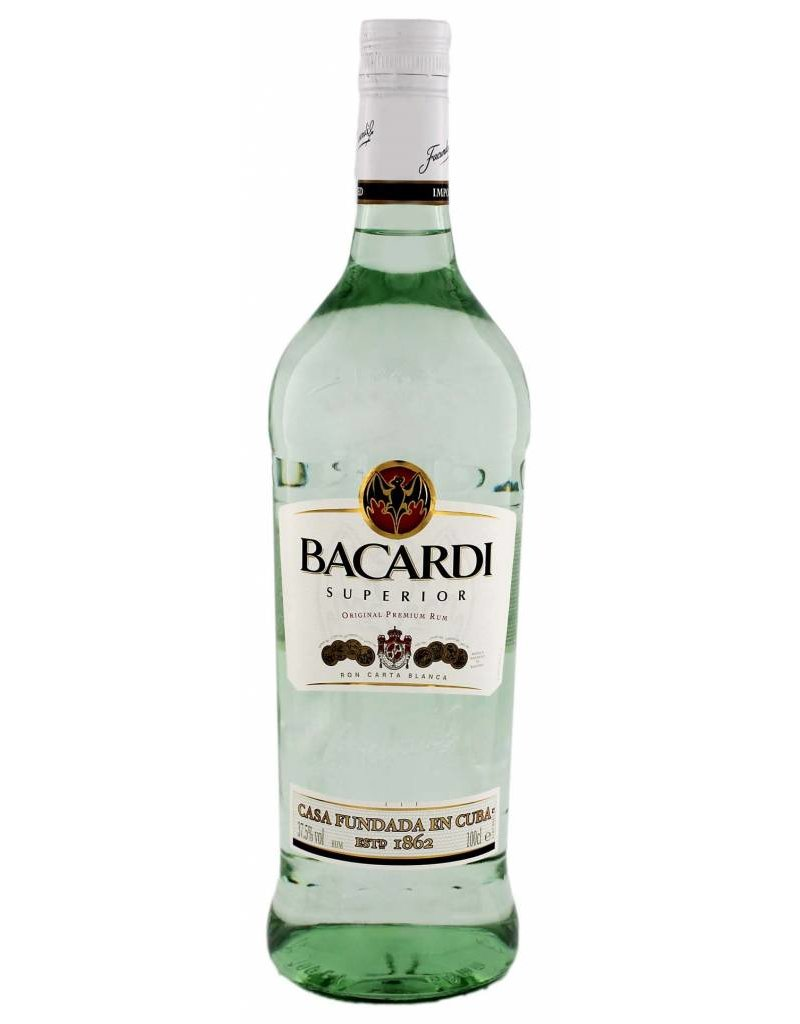 Bacardi Bacardi Superior 1,0L 37,5% Alcohol