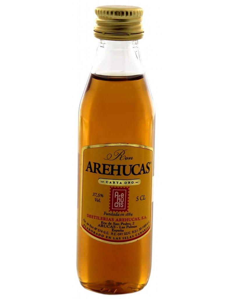 Arehucas Arehucas Dorado Oro 1YO Miniatures 0,05L 37,5% Alcohol