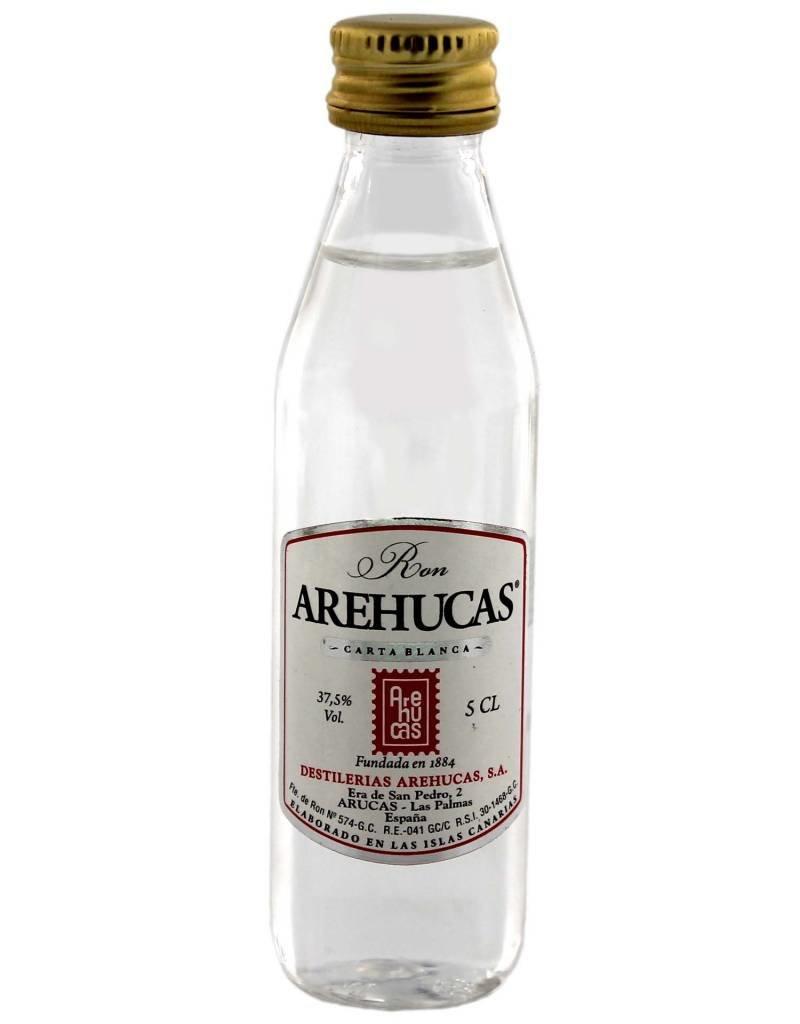 Arehucas Arehucas Carta Blanca Miniatures 0,05L 37,5% Alcohol
