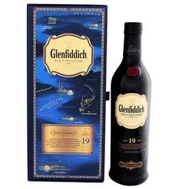 Glenfiddich Glenfiddich Age of Discovery 19YO Malt Whisky Bourbon 700ml Gift box