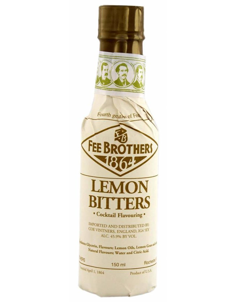 Fee Brothers Fee Brothers Lemon Bitters 0,15L 45,9% Alcohol