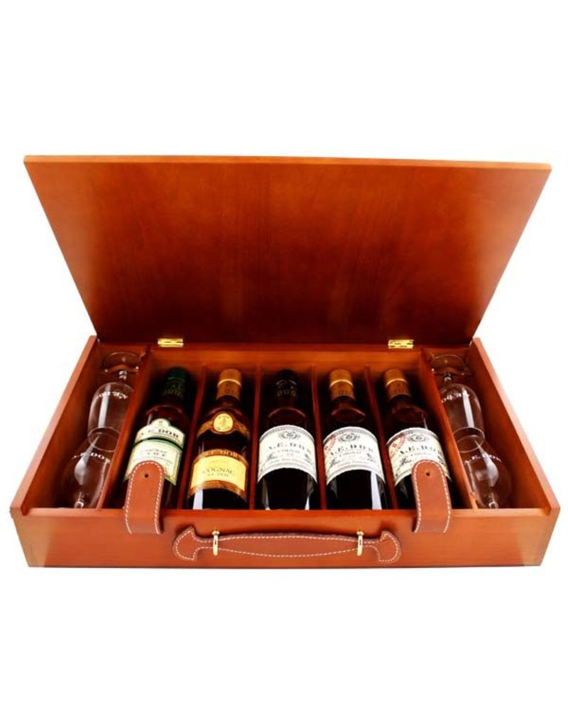 a e dor cognac coffret weekend 5x0 35l gift box luxurious drinks. Black Bedroom Furniture Sets. Home Design Ideas