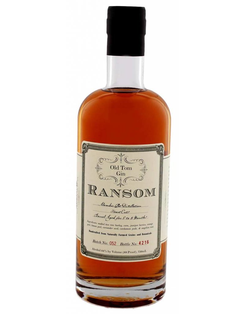 Ransom Old Tom Ransom Old Tom Gin 0,75L -US- 44,0% Alcohol