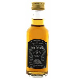 Poit Dhubh Poit Dhubh 8 Years Old Malt Whisky Miniatures 0,05L