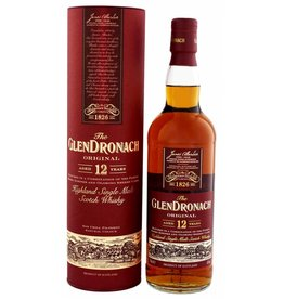 Glendronach 12 Years Old Original Malt Whisky 700ml Gift box