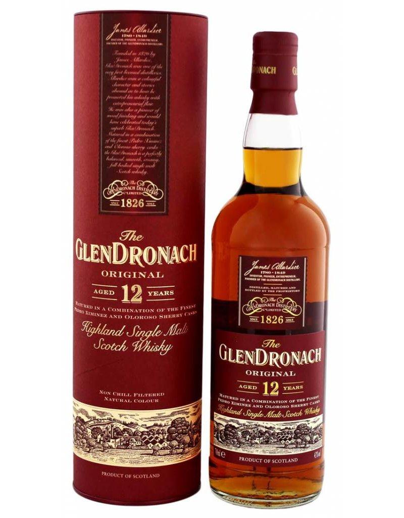 Glendronach Glendronach 12 Years Old Original Malt Whisky 700ml Gift box
