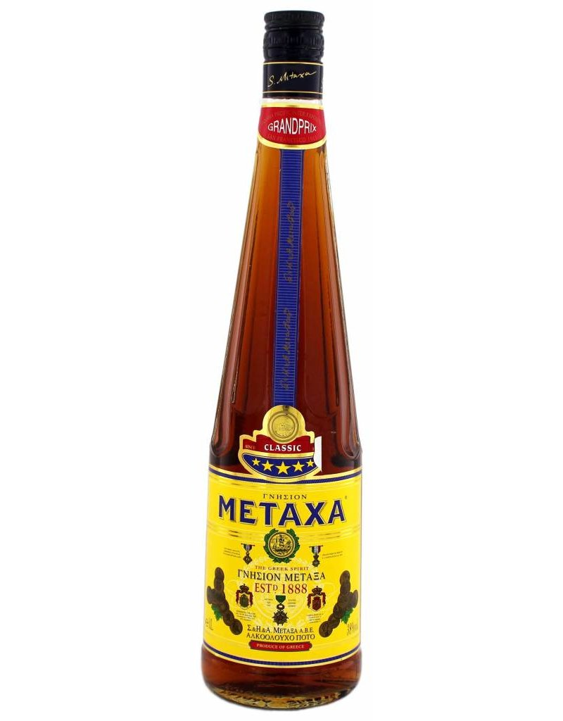 Metaxa Metaxa 5 Star 1,0L 38,0% Alcohol