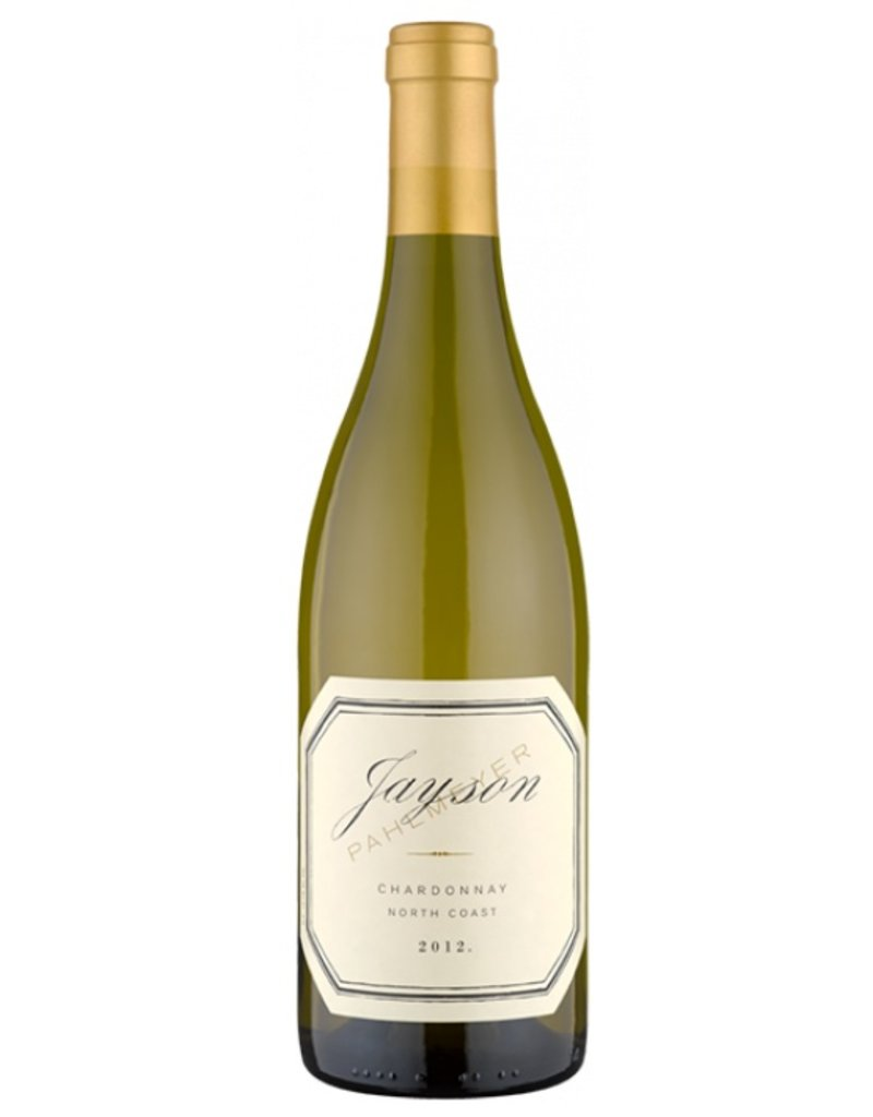 2012 Jayson Chardonnay North Coast Napa Valley, USA