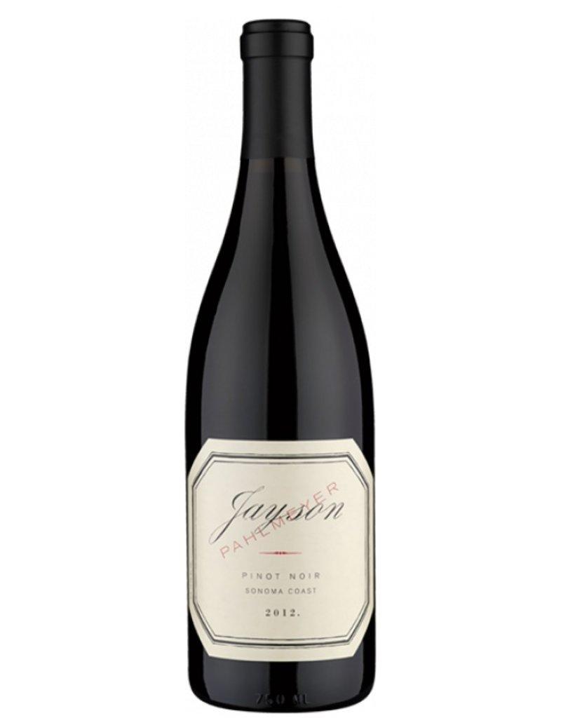 Pahlmeyer 2012 Jayson Pinot Noir Sonoma Coast Napa Valley USA