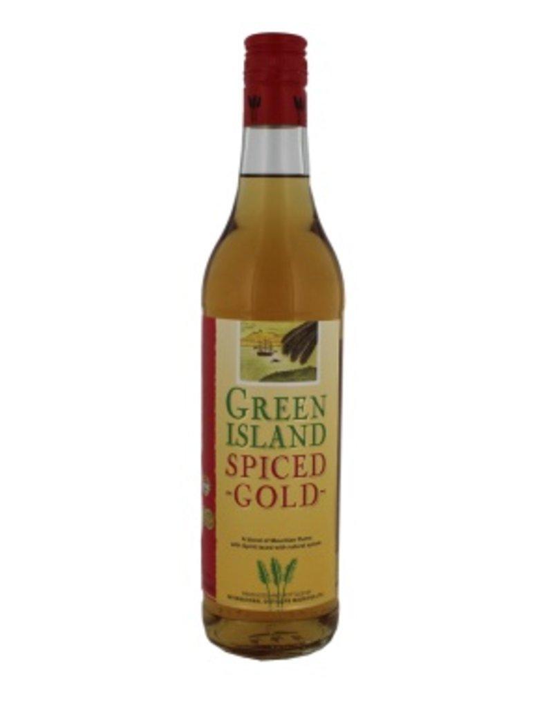 Green Island 700 ml Rum Green Island Spiced Gold - Mauritius