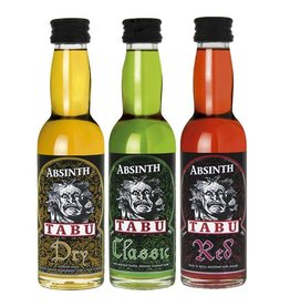 Tabu Tabu Absinth  Classic Red Dry  3x40ml