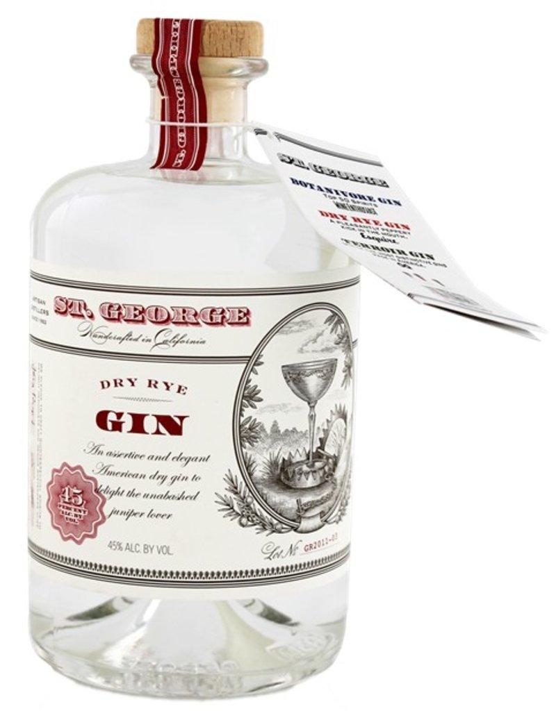 St. George Dry Rye Gin 700ml