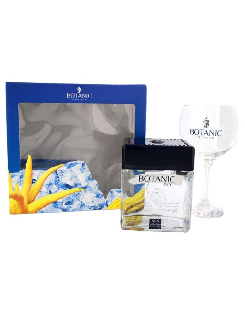 Botanic Premium London Dry Gin 700ml + Glas Gift Box