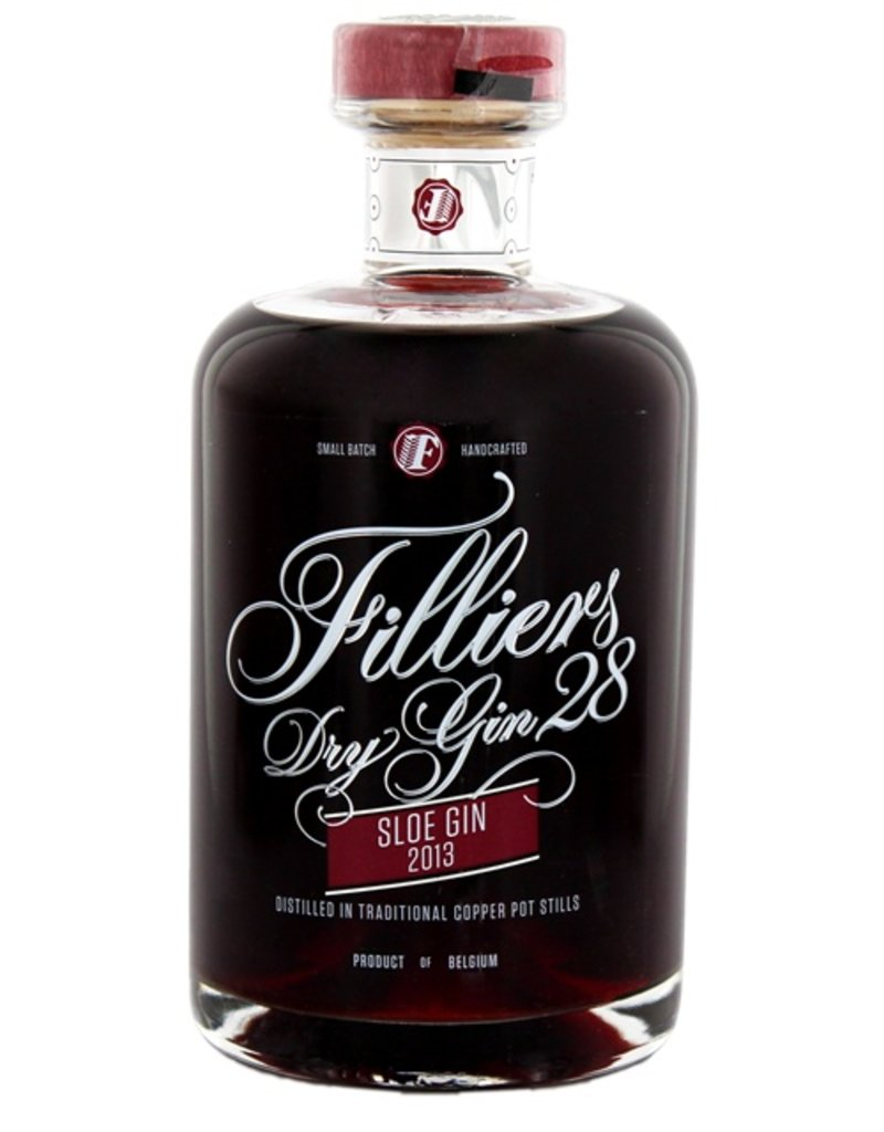 Filliers Dry Gin 28 Sloe Gin 2013 500ml