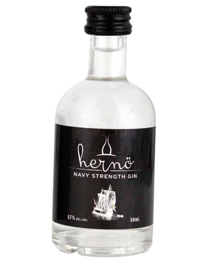Herno Navy Strength Gin Miniatures 50ml