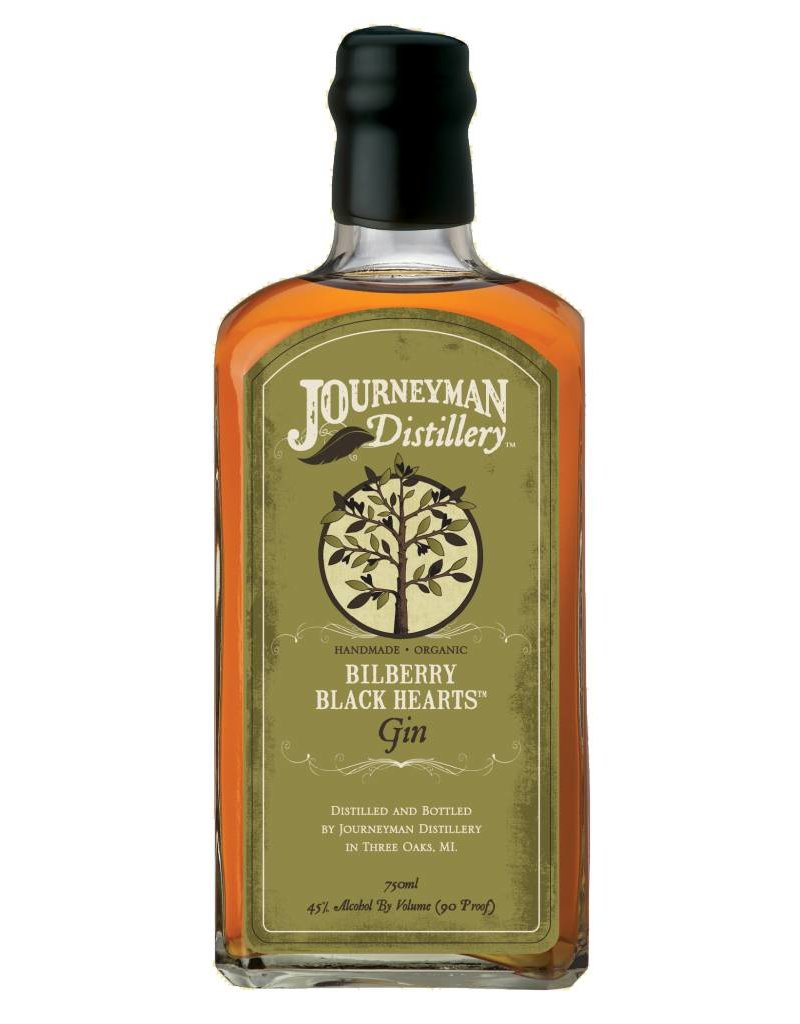Journeyman Bilberry Black Hearts Aged Gin 500ml
