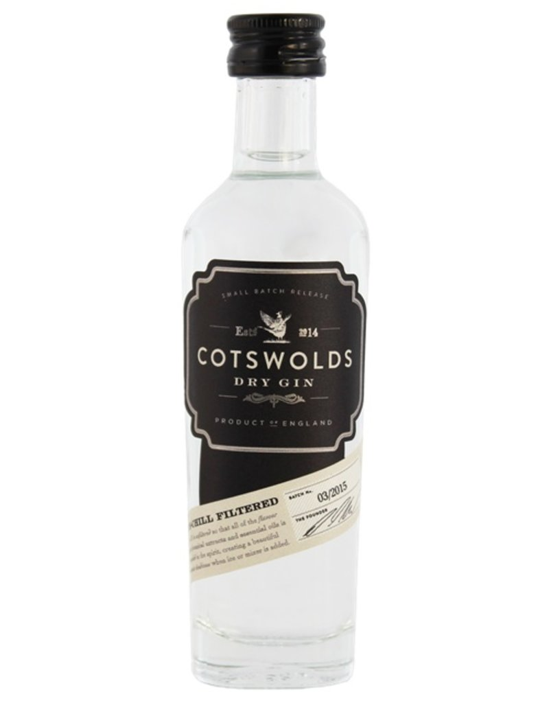 Cotswolds Dry Gin Miniatures 50ml