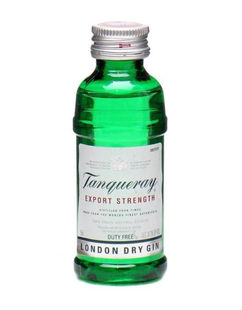 Tanqueray Tanqueray Dry Gin Miniatures 50ml P