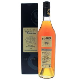 Savanna Savanna Rhum Vieux Traditionnel 8 Years Old 500ml Gift Box