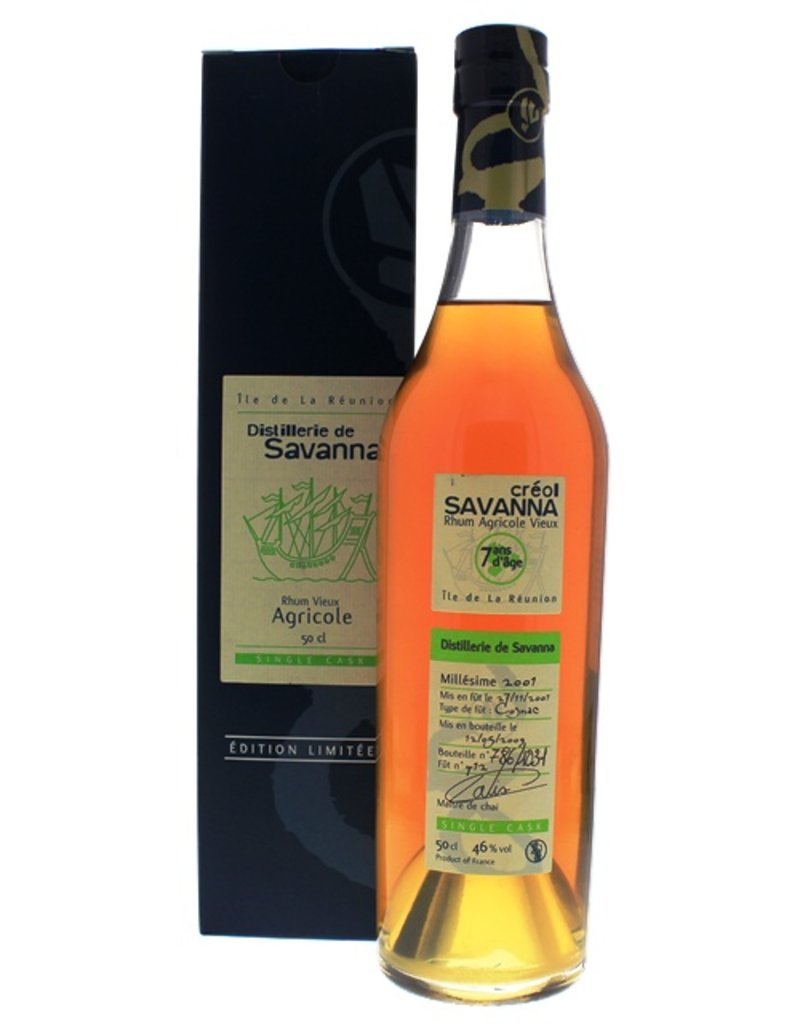 Savanna Savanna Rhum Vieux Agricole Single Cask 7 Years Old 500ml