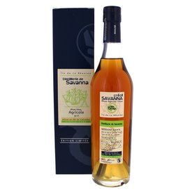 Savanna Savanna Rhum Vieux Agricole Single Cask 6 Years Old 500ml Gift Box