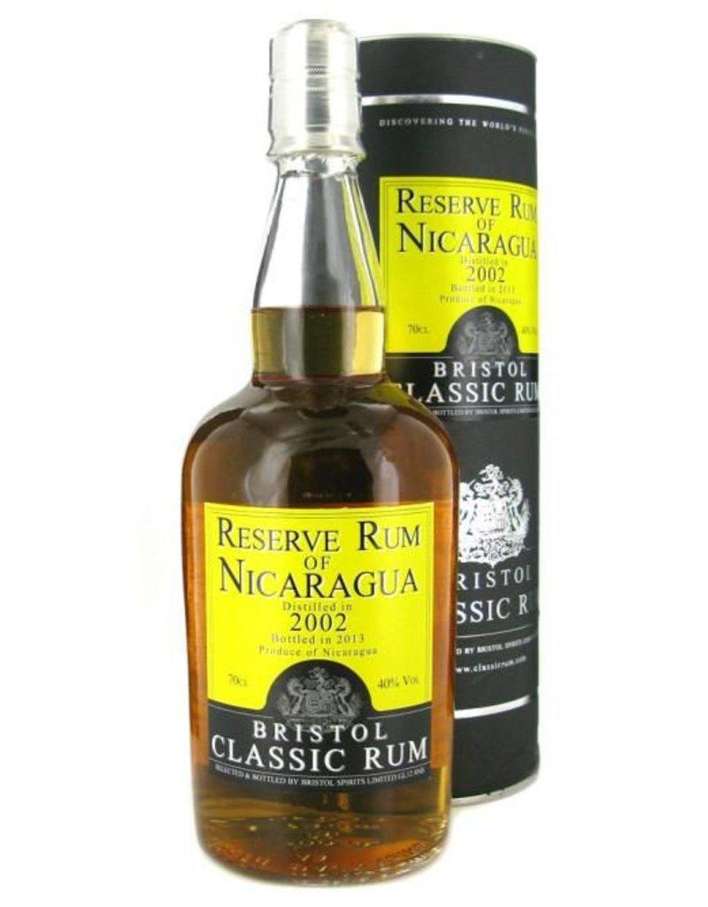 Bristol Bristol Reserve Rum of Nicaragua 2002 2015 700ml Gift Box