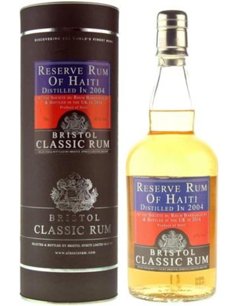 Bristol Bristol Reserve Rum of Haiti 2004 2015 700ml Gift Box