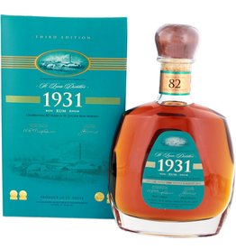 St Lucia 1931 Rum 700ml   Gift Box Third Edition