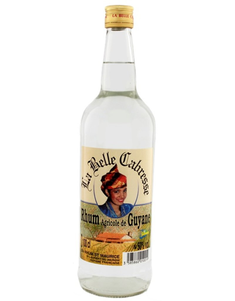 La Belle Cabresse White Rhum 1 Liter
