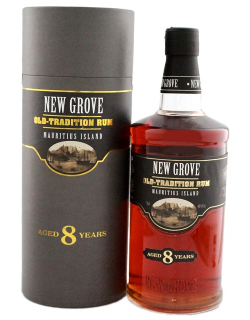 New Grove Old Tradition 8 Years Old 700ml Gift Box