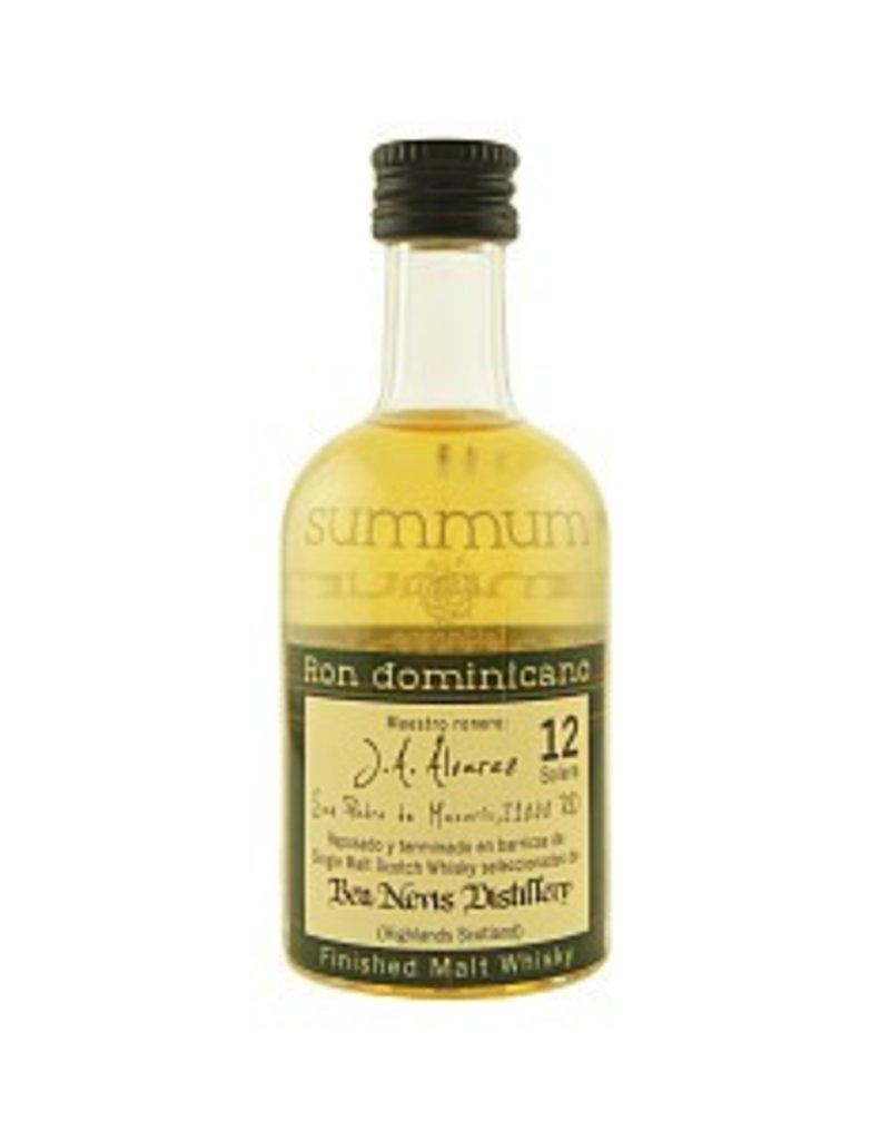 Summum 12 Years Old Malt Whisky Finish Miniatures 50ml