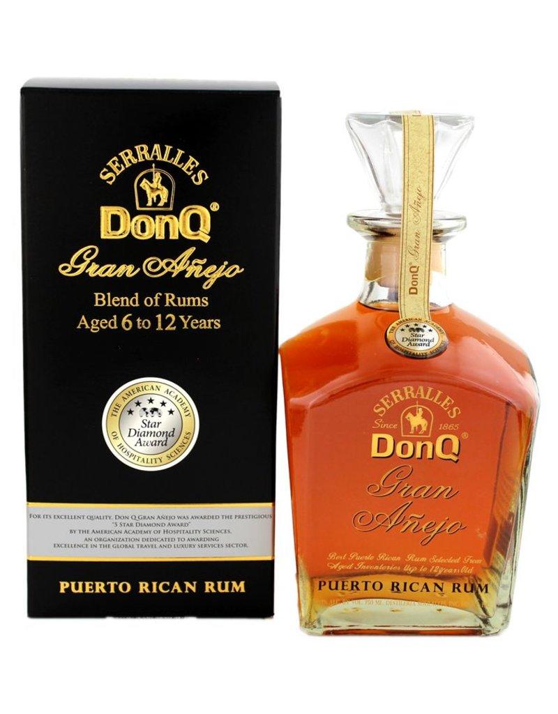 Don Q Gran Anejo 750ml    Gift Box