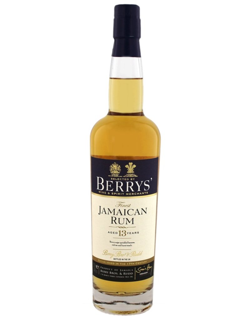 Berrys Own Finest Jamaican Rum 13 Years Old  700ml