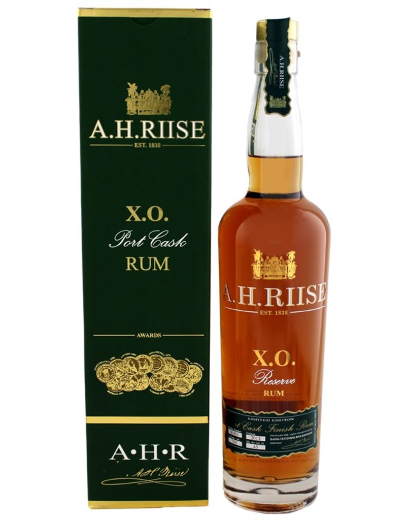 A.H. Riise A.H. Riise XO Reserve Port Cask Rum 700ml Gift Box
