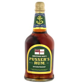 Pussers British Navy Rum Green Label Overproof 700ml