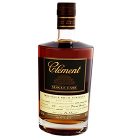 Clement Clement Rhum Single Cask Unchillfiltered 500ml Gift Box