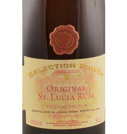 The Secret Treasures The Secret Treasures Selection Privee St. Lucia 9 Years Old Rum John Dore 500ml