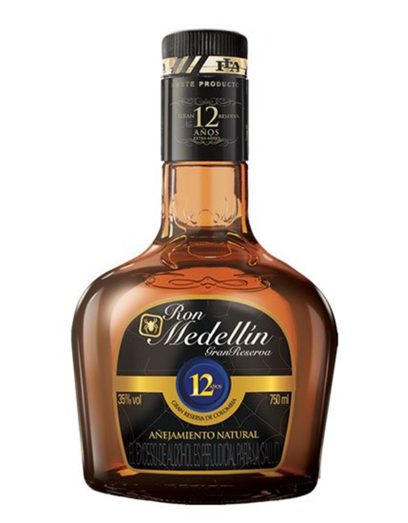 Ron Medellin Gran Reserva 12 Years Old 700ml Gift Box