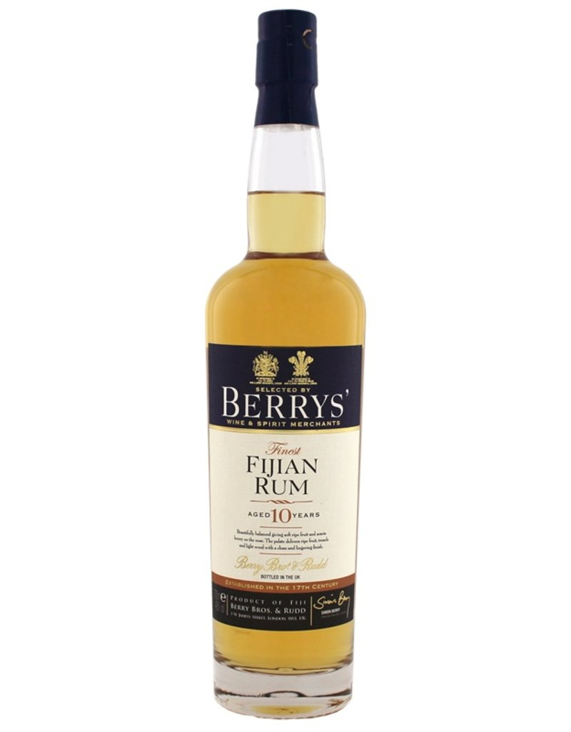 Berrys Own Finest Fijian Rum 10YO 700ml