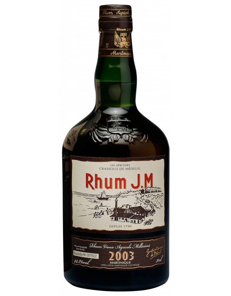 JM Rhum Vieux 2003 700ml Gift Box