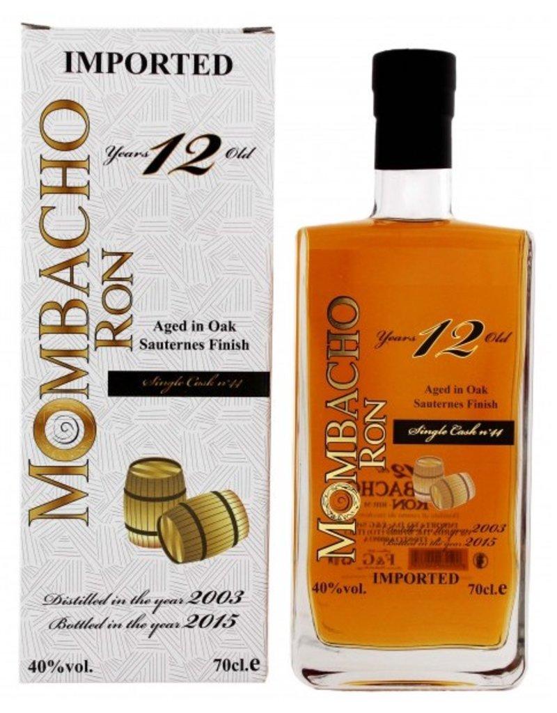 Mombacho Mombacho 12 Years Old Sauternes Finish 700ml Gift Box