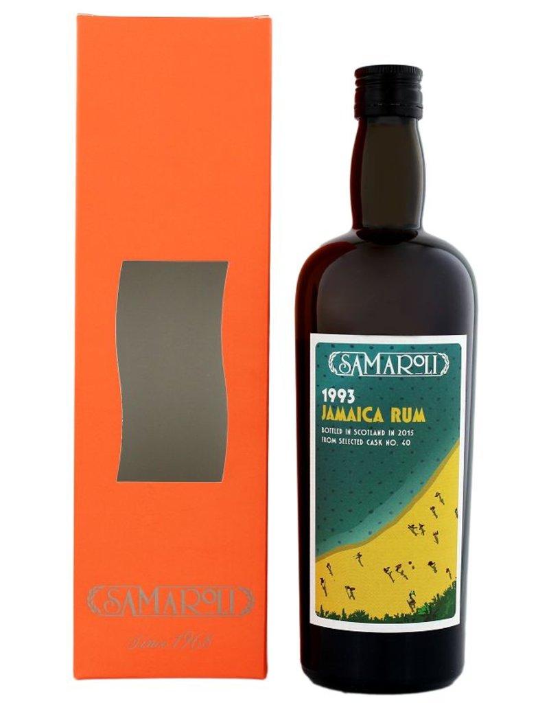 Samaroli Jamaica Rum 1993 2015 Cask N 40 700ml Gift Box