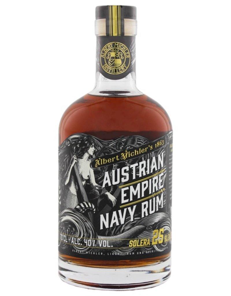 Austrian Empire Navy Rum Solera 25 Years Old 700ml
