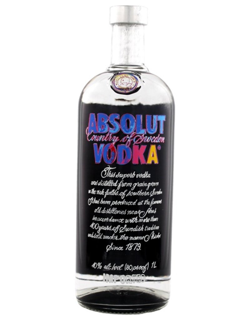 Absolut Absolut Vodka Andy Warhol 1 Liter