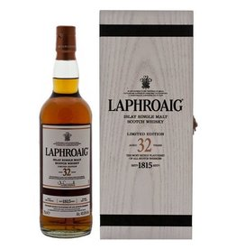 Laphroaig 32YO Malt Whisky 700ml Gift Box