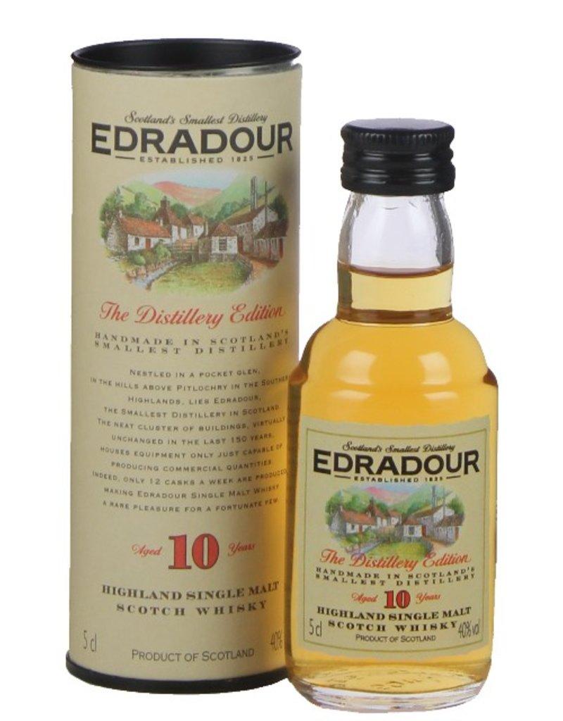 Edradour Edradour 10YO Malt Whisky Miniatures 50ml Gift Box