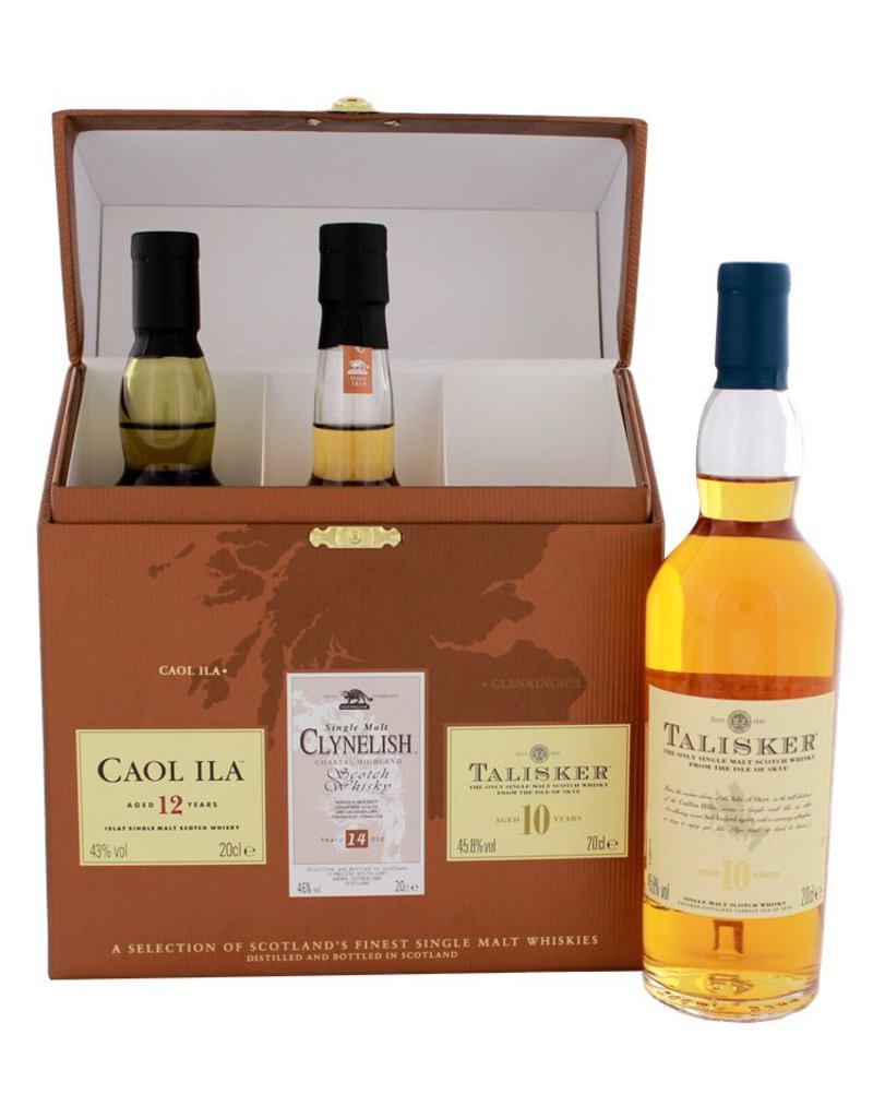 The Classic Malts Collection Coastal 3x200ml