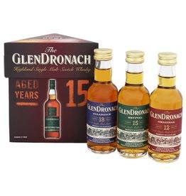 Glendronach Glendronach Giftset Miniatures 3x50ml